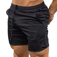 0ecb452de4f Men s Gym Workout Boxing Shorts Running Short Pants Fitte... https
