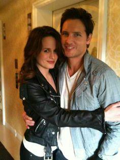 Liz Reaser and Peter Facinelli aka Esme Cullen and Carlisle Cullen of The Twilight Saga!