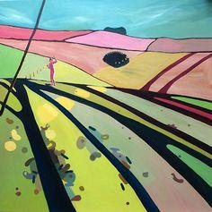 The acrylic #art of English painter Rachael Adams