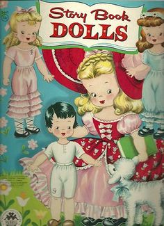 Story Book Dolls - I had an entire collection of these.