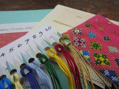 Floating Flowers, Stitch Kit, Friendship Bracelets, Cow, Cross Stitch, Punto De Cruz, Crossstitch, Needlepoint, Stuffing