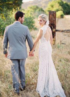 #rustic #wedding #field