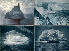 """a rare look at antarctica, 1911-1914"""