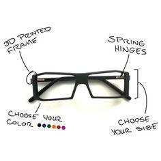 Make eyewear. MAKE YOUR OWN FRAMES! SO AWESOME!