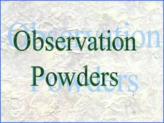 Science Lab- Mystery Powder Observation -   This 13 slide PowerPoint will guide students through a science lab to identify four mystery powders.     Note taking, measurement, and observation skills will be utilized along with prompts for class and/or group discussions.