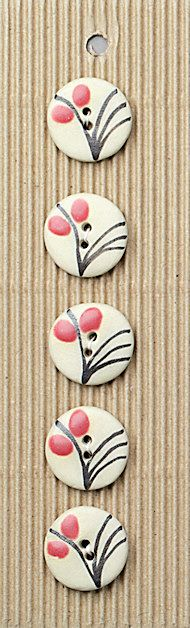 Incomparable handmade buttons and notions Ceramic Jewelry, Ceramic Beads, Clay Jewelry, Jewelry Crafts, Cool Buttons, Vintage Buttons, Button Ornaments, Ceramic Texture, Button Cards