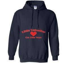 Little Valentine On The Way Pregnancy Announcement T-Shirt