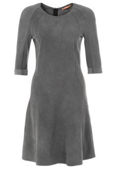 AFLAIR - Sukienka z d�erseju - szary