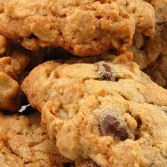 Chewy Oatmeal Raisen Cookies... For when I feel like something sweet but don't have chocolate