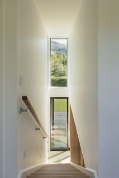 Where Beauty Meets Function.   Next-generation architecture. Setting the standard for energy efficiency and passive house design. Energy Efficiency, Passive House Design, Steel House, Architect House, Sustainable Architecture, New Builds, Beautiful Space, Stairs