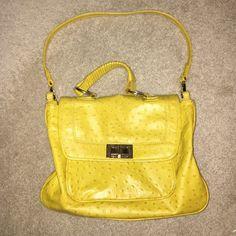 Beautiful mustard Rebecca Minkoff bag Lightly worn. Lots of compartments to hold your belongings. Rebecca Minkoff  Bags Shoulder Bags
