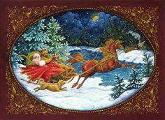 Новогодние иллюстрации Lynn Bywaters.. Обсуждение на LiveInternet - Российский Сервис Онлайн-Дневников