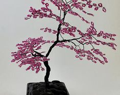 japanese maple beaded bonsai wire tree sculpture made to order rh pinterest com Butterfly Japanese Maple Bloodgood Japanese Maple