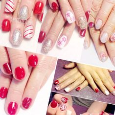 Gel nails have existed for decades. They tend to provide a more glossy and natural look whereas acrylic are more sturdy and durable as compared to gel. They tend to have a more natural and glossy appearance as compared to… Continue Reading → Christmas Shellac Nails, Red Christmas Nails, Holiday Nails, Blue Gel Nails, Red Acrylic Nails, Gel Manicure Designs, Gel Nail Tips, Gel Nail Extensions, Nail Designs Pictures