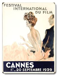 1939 Cannes Film Festival Wood Sign at AllPosters.com