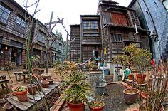 昭和初期 路地裏風景 - みんなの写真コミュニティ「フォト蔵」