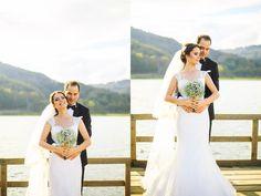 Abant Lake, a beautiful wedding by the lake