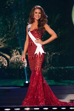 Miss USA Universe 2014 Nia Sanchez - Preliminary Competition