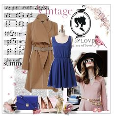 Little Vintage by bluejess on Polyvore featuring moda, Oasis, Music Notes and vintage