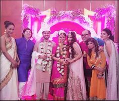 Dimpy Ganguly's wedding in pics ‪#‎indianwedding