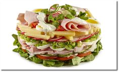 Salat Torte