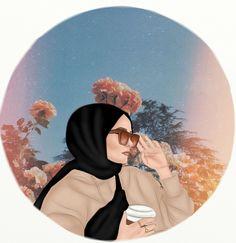 Cute Baby Cats, Cute Babies, Islamic Cartoon, Anime Muslim, Hijab Cartoon, Islamic Girl, Hijabi Girl, Digital Art Girl, Aesthetic Pastel Wallpaper