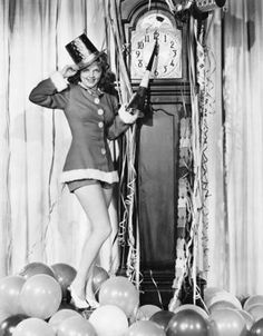 Love this vintage New Year image!