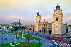 LIMA, PERU Plaza de Armas — 2014