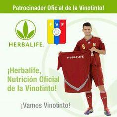 #Herbalife patrocinador De la selección venezolana de Futbol!