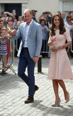 Look pretty in pink like the Duchess of Cambridge #DailyMail Click 'Visit' to buy now