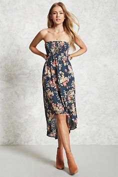 Forever 21 Botanical Floral Midi Dress | Where to buy  how to wear