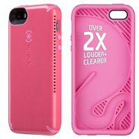 Speck Products Candyshell Amped Sound Amplification Case for iPhone 5/5S - Bubblegum Pink/Flamingo Pink