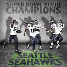 Not my Cowboys, but I guess you could say Seattle is my long distant secondary team. Super happy for them! Seahawks Super Bowl, Seahawks Football, Best Football Team, National Football League, Seattle Seahawks, Nfl News, Sports News, Here Comes The Boom, Superbowl Champions