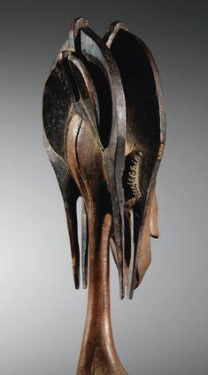 Marionnette, Bamana, Mali BAMANA MARIONETTE HEAD, MALI haut. 81 cm