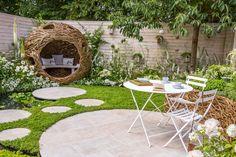 Living Landscapes: City Twitchers (Summer Garden) at the RHS Hampton Court Flower Show 2015.