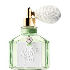 Limited Edition Muguet Eau de Toilette by Guerlain. A fresh floral fragrance: a sublimated lily of the valley note, infused with bergamot, jasmine and rose accents which ushers in the springtime with elegance. Parfum Guerlain, Parfum Rose, Rose Perfume, Fragrance Parfum, New Fragrances, Lily Of The Valley, Bottle Design, Nordstrom, Designer