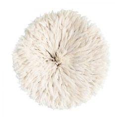 White Feather Juju Hat