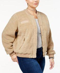 Levi's® Plus Size Fleece Bomber Jacket