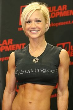 Image detail for -Female Bodybuilder Jamie Eason | Fitness Weights