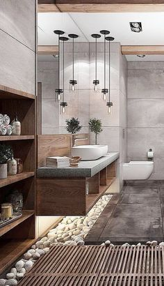 Create a Spa Bathroom (Theoretically!)How to Create a Spa Bathroom (Theoretically!) Bathroom Lighting Ideas to Add a Dreamy Touch to Your Space modern home decor Creative Small Bathroom Ideas and Designs Spa Bathroom Decor, Spa Inspired Bathroom, Spa Bathrooms, Bathroom Ideas, Master Bathrooms, Bathroom Designs, Small Spa Bathroom, Bathroom Lighting, White Bathrooms