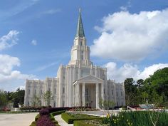 Houston Texas Temple. Where I was married to my sweetheart for time and all eternity!