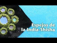 BORDADO INDIO CON ESPEJOS SHISHA - YouTube
