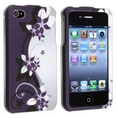 @Overstock - This is a purple flower snap-on rubber coated case for Apple iPhone 4/ 4S. Keep your cell phone safe and protected against external dust and scratches in this snap-on rubber coated case accessory.http://www.overstock.com/Electronics/Purple-Flower-Snap-on-Rubber-Coated-Case-for-Apple-iPhone-4-4S/6437763/product.html?CID=214117 $3.99
