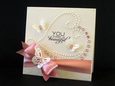 Another card where if you change the greeting, it would be perfect for a wedding!