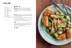Rezepte aus dem Greentopf-Kochbuch Slow Food, Crispy Tofu, Celery, Sprouts, Ale, Vegetables, Healthy Meals, Healthy Food Recipes, Eat Lunch