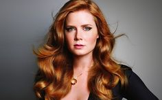 Amy Adams red copper hair ~~ 21 most famous celebrity redheads to inspire your n. Amy Adams red co Hair Color Auburn, Auburn Hair, Hair Colour, Color Red, Auburn Colors, Rachel Mcadams, Cabelo Amy Adams, Amy Adams Hair, Actress Amy Adams