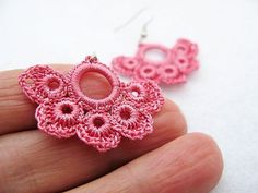 Brincos rosa