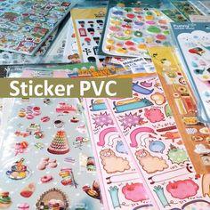 Many Styles - Pvc Transparent Decoration Sticker Scrapbook Planner