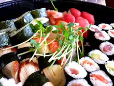 I love sushi    http://www.sushi-selber-machen.org