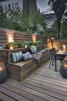 15 Modern Deck Patio Ideas For Backyard Design And Decoration Ideas Check more a. - 15 Modern Deck Patio Ideas For Backyard Design And Decoration Ideas Check more at gardenideas. Modern Deck, Patio Plus, Small Patio, Patio Ideas For Small Spaces, Small Backyard Landscaping, Spring Decoration, Gazebos, Outdoor Living, Outdoor Decor